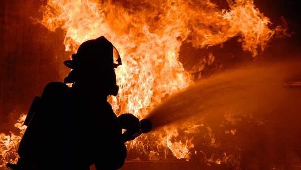 На Дніпропетровщині згоріла будівля сільської ради