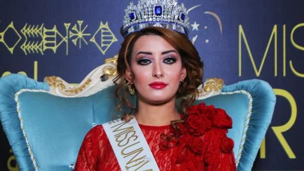 """Сара Айдан из Ирака едет на """"Мисс Вселенная"""""""