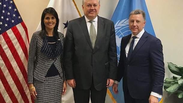 Волкер та Єльченко обговорили введення миротворців ООН на Донбас