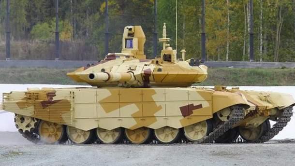 Модернизированный боевой танк Т-90С