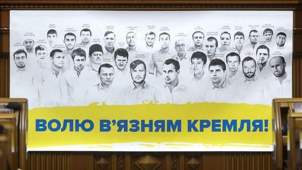 В'язнів Кремля в анексованому Криму