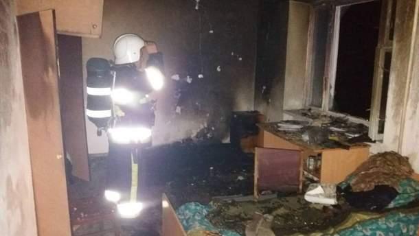 В Хмельницкой области эвакуировали более сотни студентов из горящего общежития