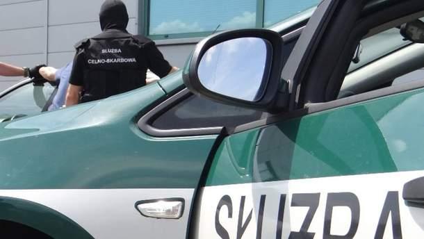 Гражданин Украины ударил польского таможенника в голову