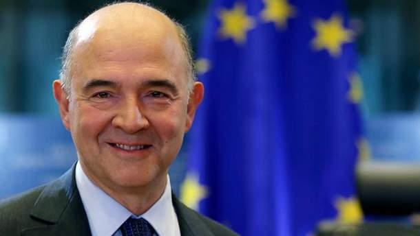 Еврокомиссар Пьер Московиси