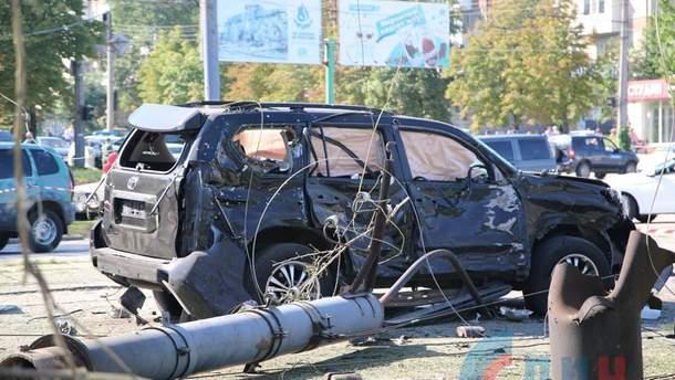 Авто Ігоря Плотницького після замаху. Бойовик дивом вижив