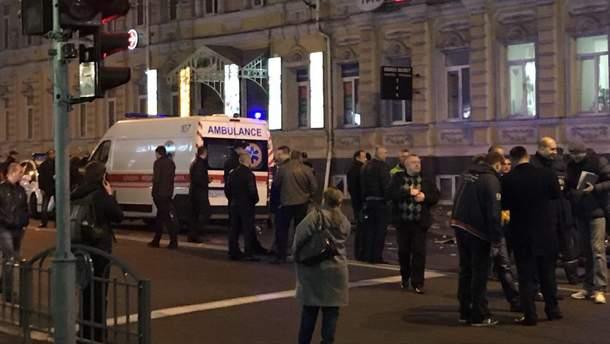 Последствия смертельного ДТП в Харькове