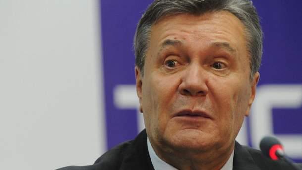 Янукович в новом видеообращении удивил своим видом