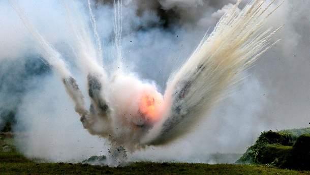 На Донбассе 7 боевиков подорвались на гранате