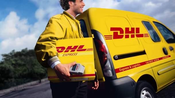 DHL досі працює в Криму