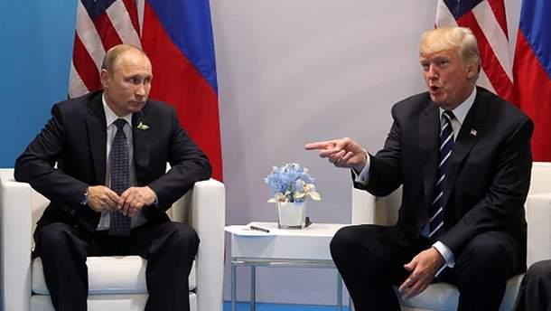 Володимир Путін і Дональд Трамп