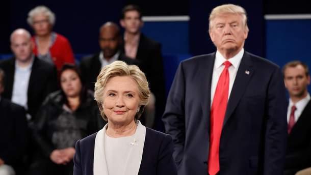 Клінтон збирає новий компромат на Трампа