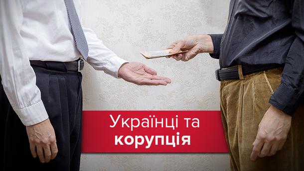 Кожен четвертий українець давав хабара за останній рік