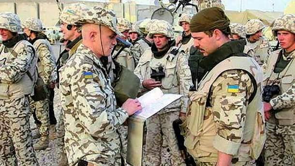 Украинских военных в Афганистане станет больше