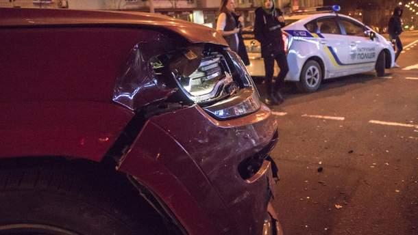 Аварія в Києві