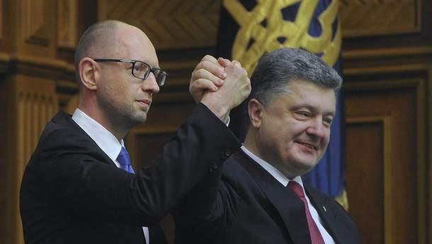 Яценюк и Порошенко не объединятся