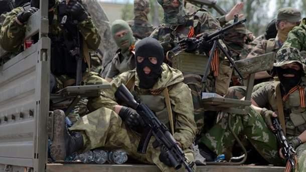 Бойовики проводять операцію по закидання агентів у підконтрольні Україні райони Донбас