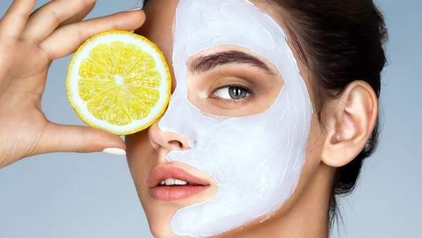 Лимон и косметология