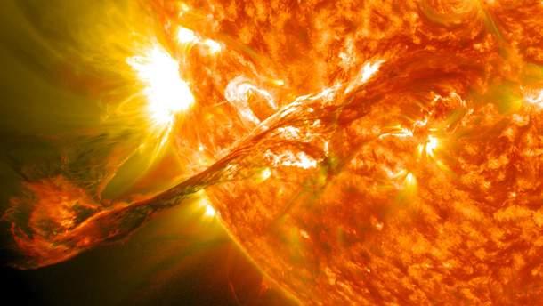 В NASA показали необычное явление на Солнце