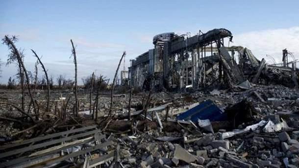 Луганский аэропорт разрушили в 2014 году с территории России