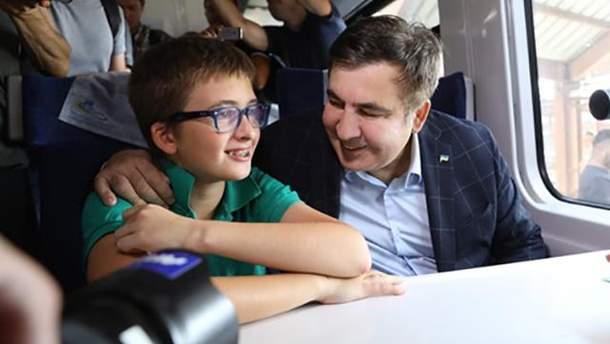 """Сина Саакашвілі затримали в аеропорту """"Бориспіль"""""""