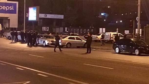 Перестрелка в Киеве 10 ноября