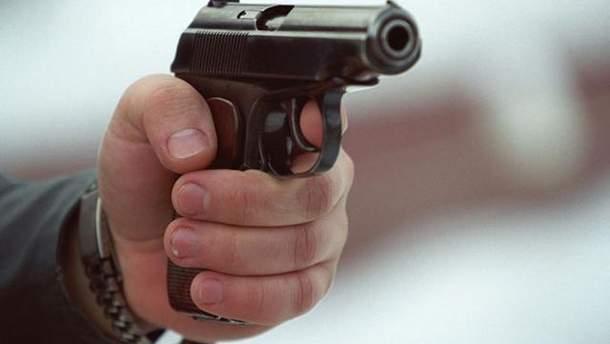 Стрілянина в Києві на Саксаганського 10 листопада