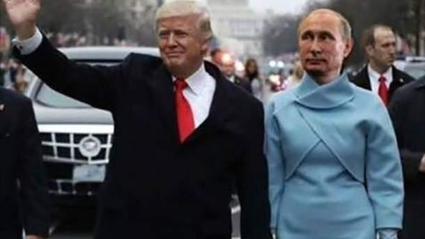 Зустріч Трампа з Путіним висміяли у соцмережах
