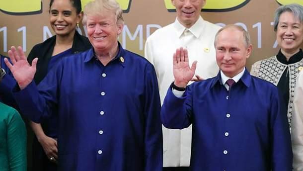 Трамп и Путин приняли совместное заявление по Сирии
