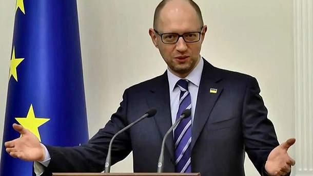 """""""Народный фронт"""" будет участвовать в выборах президента и парламента, заявил Яценюк"""