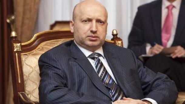 Турчинов не братиме участі у виборах президента України 2019 року