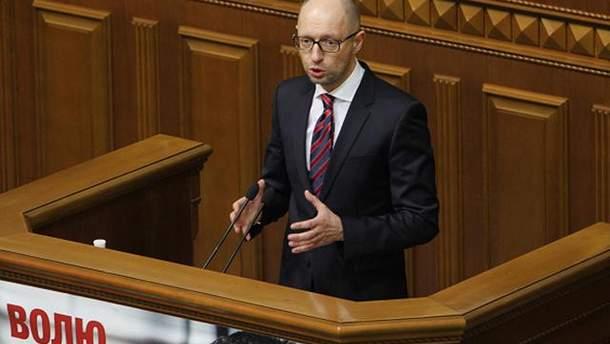 """Яценюк пообещал, что """"Стена"""" на границе с Россией будет завершена"""