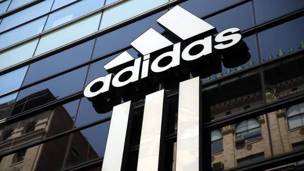 Пламенный украинский привет Adidas