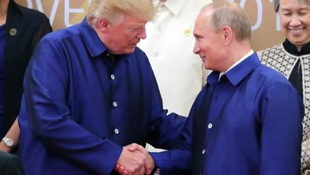 Трамп зустрівся з Путіним у В'єтнамі
