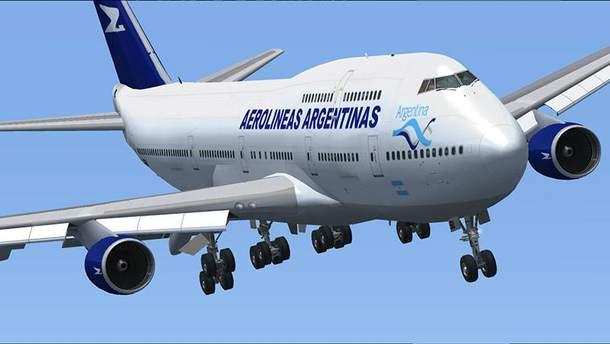 Дрон протаранив літак в Аргентині