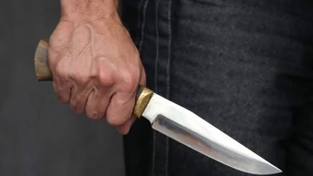 Нападение на мужчину в Киеве