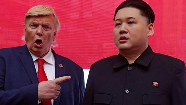 """Трамп обозвал Ким Чен Ына """"жирным коротышкой"""""""