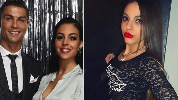 Роналду изменил своей беременной девушке Джорджине Родригес