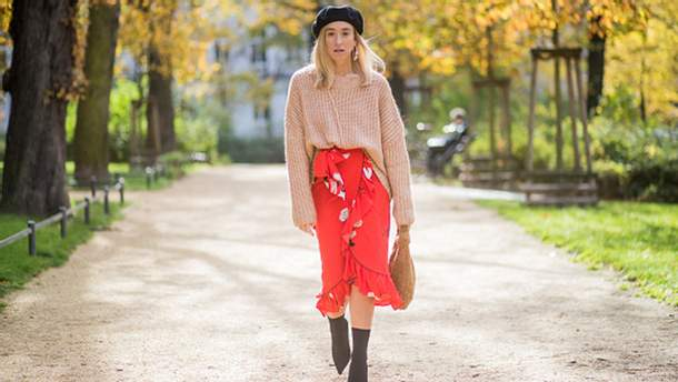 Как носить теплый свитер и выглядеть элегантно