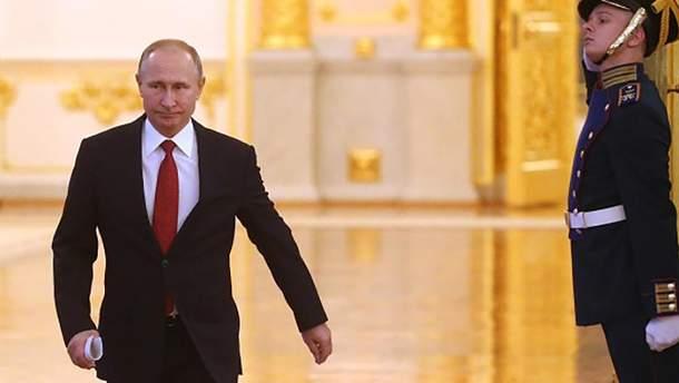 Действующий хозяин Кремля Владимир Путин