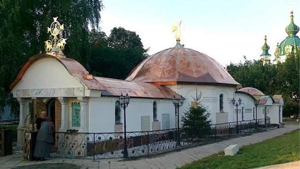 В Киеве хотят снести незаконную часовню монастыря УПЦ МП