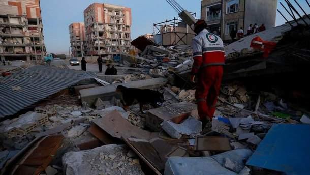 Землетрус на кордоні Іраку та Ірану
