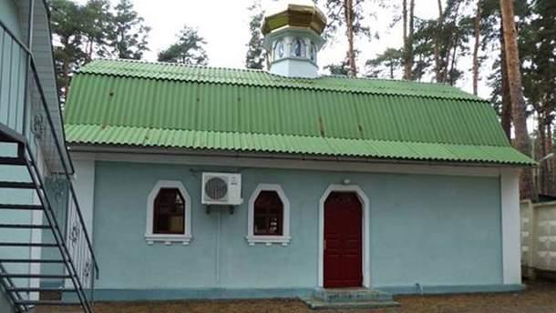 Мужчина обокрал церковь в Киеве