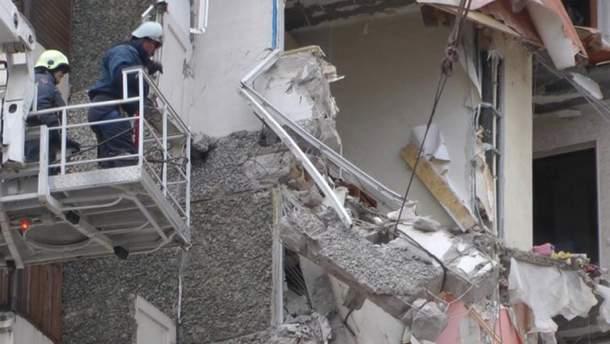 Будинок у Саранську обвалився з другого по шостий поверхи (ілюстрація)