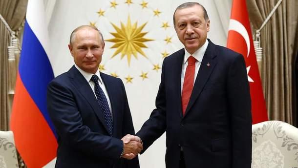 Путін та Ердоган зустрінуться в Сочі