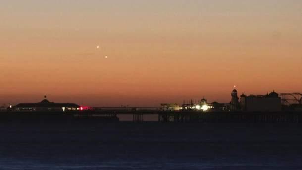 Венера і Юпітер