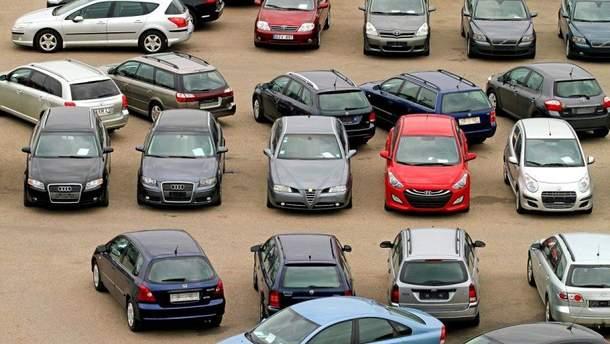 Литовские авто, пригнанные в Украину незаконно, могут конфисковать