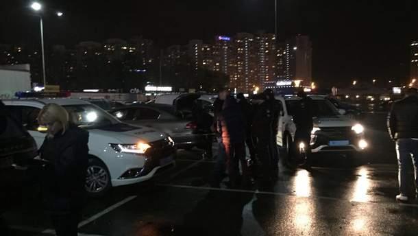 Задержание в Киеве
