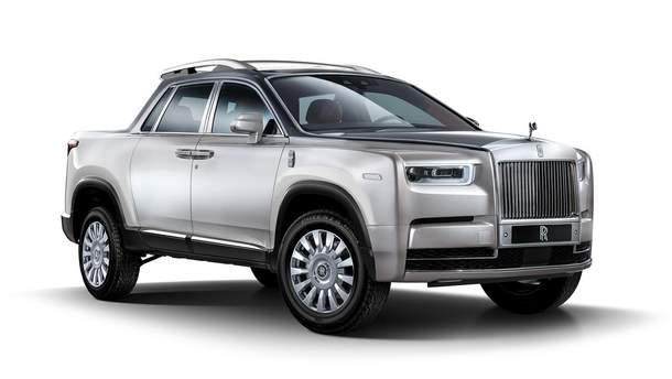 Можливий пікап від Rolls-Royce
