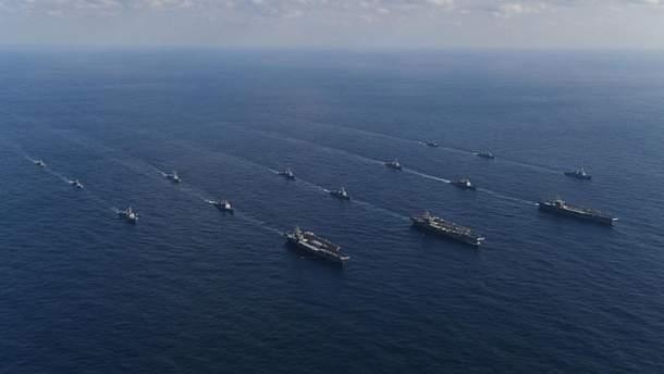 Американські авіаносці біля Південної Кореї