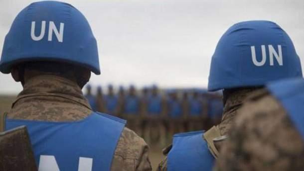 Миротворцы ООН на Донбассе